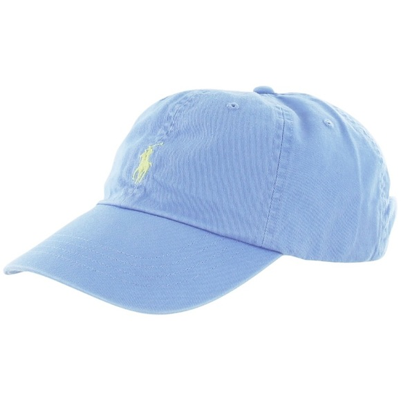 ce011d9b Polo by Ralph Lauren Accessories | Blue Polo Hat With Yellow Horse ...